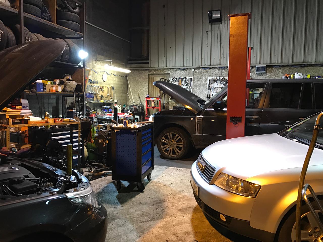 Car repair limerick marius garage - Inside of a garage ...